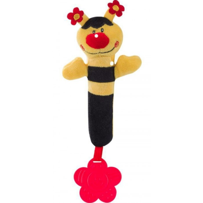 Мягкие игрушки BabyOno с пищалкой 993 babyono развивающая игрушка гимнастика малыша