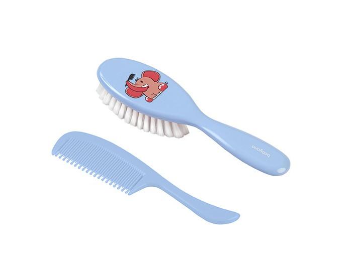 Уход за малышом BabyOno Щеточка для волос супер мягкая с натуральной щетиной babyono щетка для волос с мягкой щетиной и гребень слон