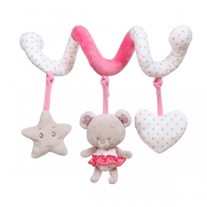 Купить Подвесные игрушки, Подвесная игрушка BabyOno Спиралька Мишка Suzie