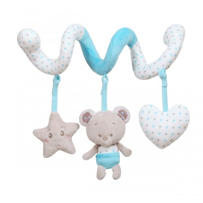 Подвесные игрушки BabyOno Спиралька Мишка Tony мягкие игрушки babyono кукла zoe