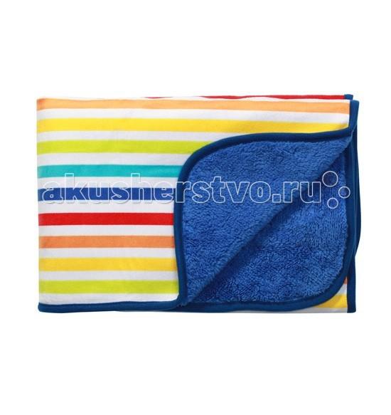 Одеяла BabyOno Двустороннее из микрофибры 75x100 плед babyono двусторонний коричневый 75 100см