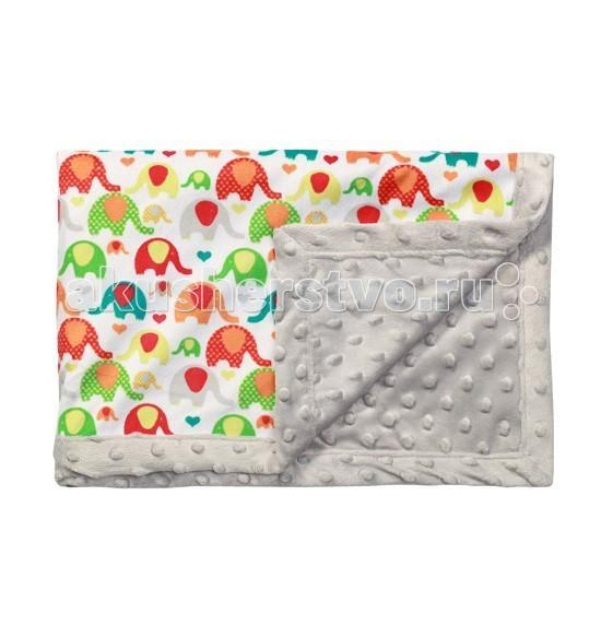 Одеяло BabyOno Двустороннее с пузырьками из микрофибры