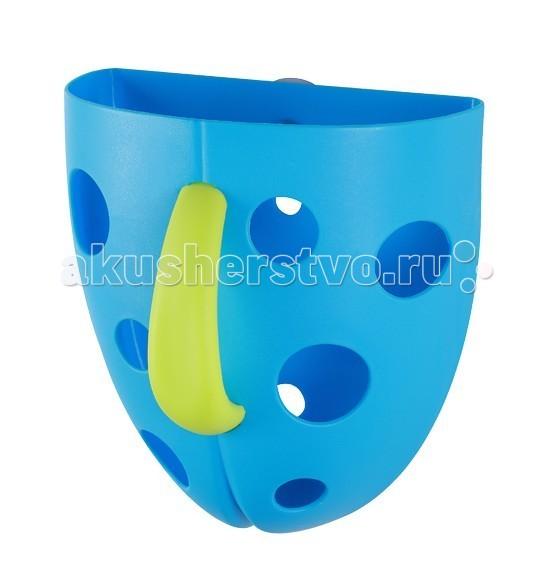 Аксессуары для ванн BabyOno Контейнер для игры в ванной babyono пазл для игры в ванной