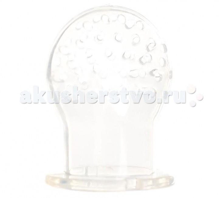 Ниблеры BabyOno Насадка силиконовая на ниблер 2 шт. ложка babyono мягкая силиконовая 2 шт в уп розовая бирюзовая