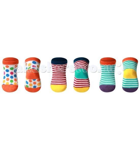 Колготки, носки, гетры BabyOno Носки Frutty из хлопка 0+ 1 пара колготки носки гетры babyono носки из хлопка антискользящие smile 0 1 пара