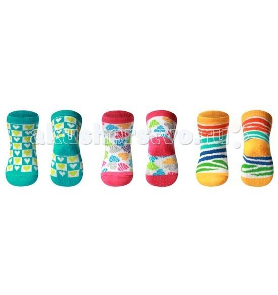 Колготки, носки, гетры BabyOno Носки из хлопка антискользящие Dream 6+ 1 пара колготки носки гетры babyono носки из хлопка антискользящие smile 0 1 пара