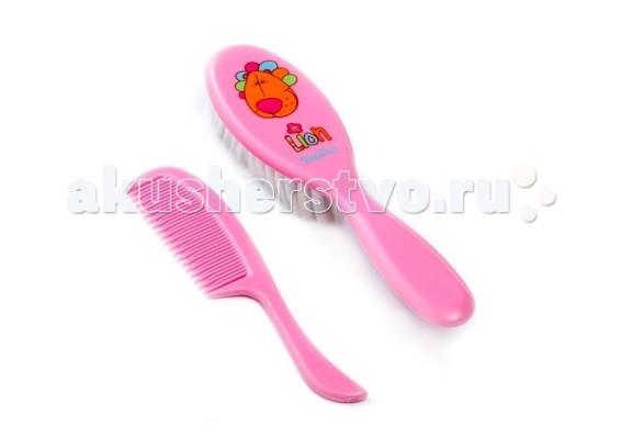 Уход за малышом BabyOno Щетка и расческа для волос мягкая