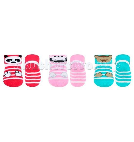 Колготки, носки, гетры BabyOno Terry носочки противоскользящие 0m+ 1 пара atlas mavros ultra 1 0m xlr