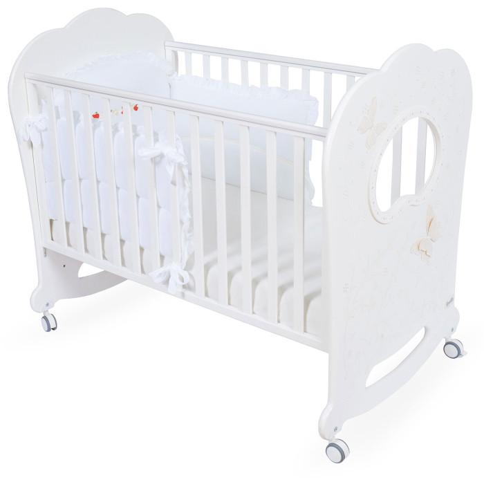 Бортик в кроватку BabyPiu Le Chicche мягкий