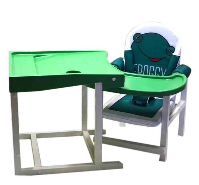Стульчики для кормления Babys трансформер высокий стул для кормления precious pc 353 green