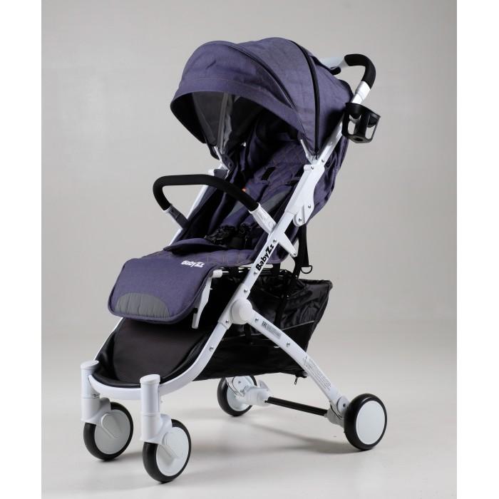 Прогулочная коляска BabyZz  D200Прогулочные коляски<br>Прогулочная коляска BabyZz D200   У коляски крепкая алюминиевая рама и полиуретановые колеса диаметром 13 см. Передние колеса поворотные, что делает коляску очень маневренной. На колесах установлены амортизационные пружины. Ход коляски тихий и мягкий.  Безопасность ребенка обеспечивают 5-ти точечные ремни безопасности и съемный бампер, а комфорт ребенку во время сна создаст откидная спинка сидения (угол наклона 180 градусов) и регулируемая подножка. Для удобства родителей в коляске установлена большая корзина для покупок.  Коляска качественно собрана, все детали коляски выполнены из высококачественных материалов. Люфт полностью отсутствует. Коляска ТМ BabyZz соответствует классу IATA позволяющему брать ее на борт самолета. Она легко складывается и раскладывается одной рукой. Вес коляски 6 кг.  Коляска оборудована увеличенным по длине и ширине спальным местом за счет выдвижного удлинителя (подножки). Особенностью этой модели являются блокируемые и съемные поворотные на 360 градусов полиуретановые колеса. Каждое из них оснащено индивидуальной амортизационной системой. Для задних колес предусмотрен стояночный тормоз.  Есть раскладывающийся поручень и проветриваемый капюшон со смотровым окошком для наблюдения за ребенком. Спинка регулируется в 3 положения. Материал пошива коляски является водонепроницаемым, съемным и хорошо чистится.  спальное место 35 х 80 см высота от ручки до пола - 1 м расстояние между колесами 52 х 28 см Комплектация: накидка на ножки подстаканник москитная сетка дорожная сумка сумка для транспортировки коляски
