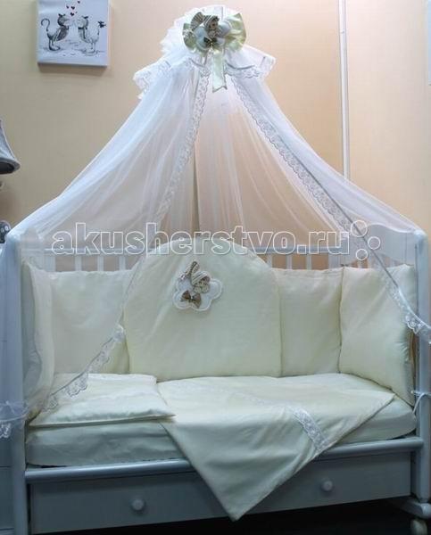 Комплект в кроватку Балу Ангел мой (7 предметов)