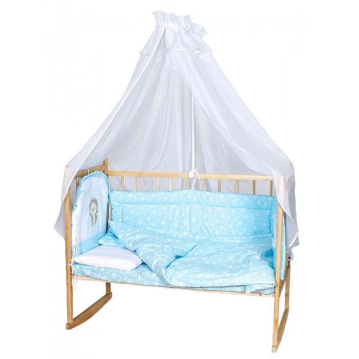Комплекты в кроватку Балу Ежик Васютка (8 предметов) балу аистенок розовый персиковый 8 предметов ш157 лето
