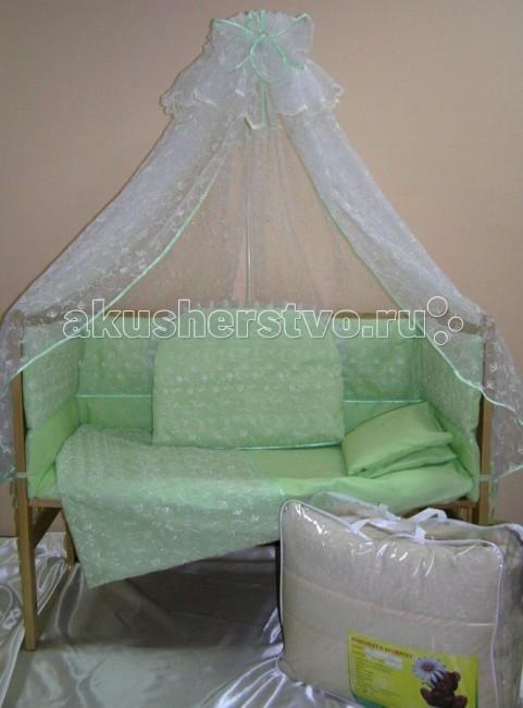 Комплекты в кроватку Балу Нежность (8 предметов)