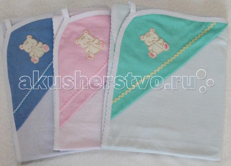 Полотенца Балу Простынка для купания 90х100 см ш651 балу трикотаж махра 90х100 розовый ш651