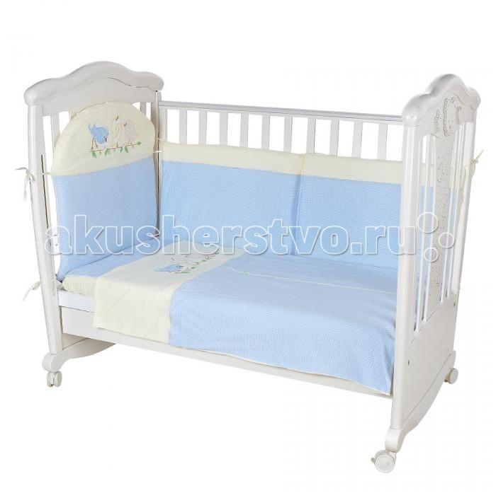 Постельные принадлежности , Комплекты в кроватку Балу Пташки (4 предмета) арт: 265185 -  Комплекты в кроватку