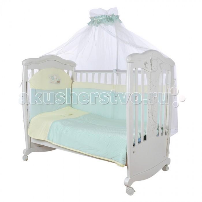 Постельные принадлежности , Комплекты в кроватку Балу Пташки (6 предметов) арт: 266772 -  Комплекты в кроватку