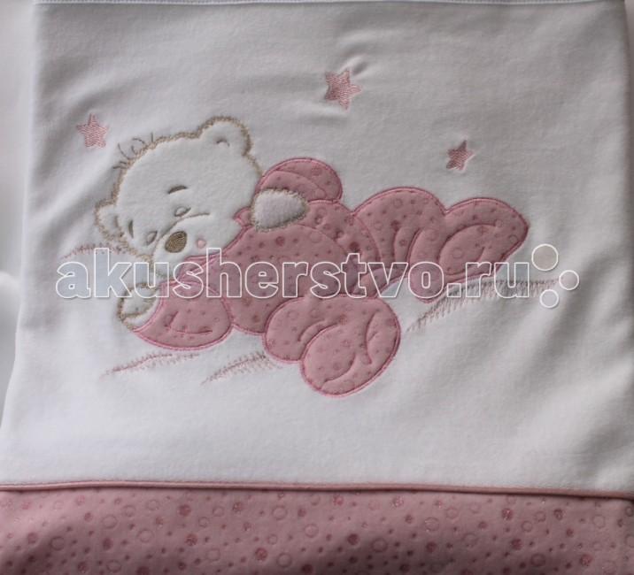 Пледы Балу Сладкий сон 90х100 см балу трикотаж махра 90х100 розовый ш651