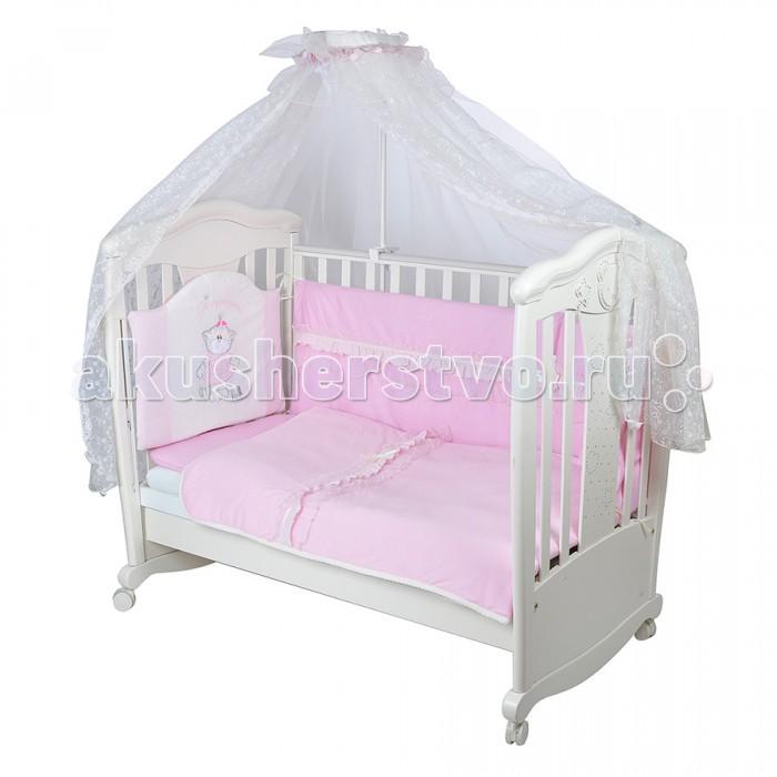 Комплекты в кроватку Балу Я Принцесса ш4115 (7 предметов)