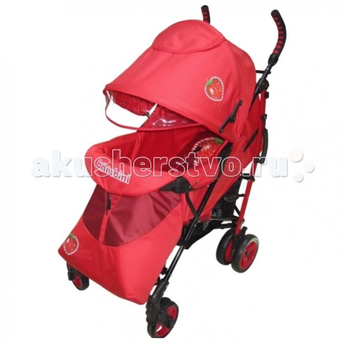 Коляска-трость Bambini ShuttleShuttleКоляска Bambini Shuttle с чехлом - это очень практичная, легкая, устойчивая модель прогулочной коляски. В комплекте с коляской идет чехол для ножек, поэтому с ребенком можно будет прогуляться и в холодную погоду.  Коляска Bambini Shuttle очень просторная, и если малыш во время прогулки захочет уснуть, маме достаточно будет опустить спинку коляски и поднять подножку, создав таким образом уютное спальное место своему ребенку. Понаблюдать за малышом можно будет в специальное окошко, которое находится на капюшоне коляски.  Особенности: складывается способом трость регулируемый защитный козырек с кармашком и окошком два пятиточечных ремня безопасности съемный прочный бампер спинка регулируется (вплоть до лежачего положения) большая корзинка для покупок и вещей чехол для ножек малыша удобная ручка для переноски коляски стальной каркас эргономичные, не скользящие, ручки регулируемая подножка  Колеса: передние одинарные, поворачиваются на 360 градусов, есть фиксаторы (15 см) задние сдвоенные, с фиксирующей педалью (18 см)  Размеры: 70 х 50 х 107 см. Вес 9.5 кг.  Внимание! Анатомическая подушка в комплект не входит!<br>