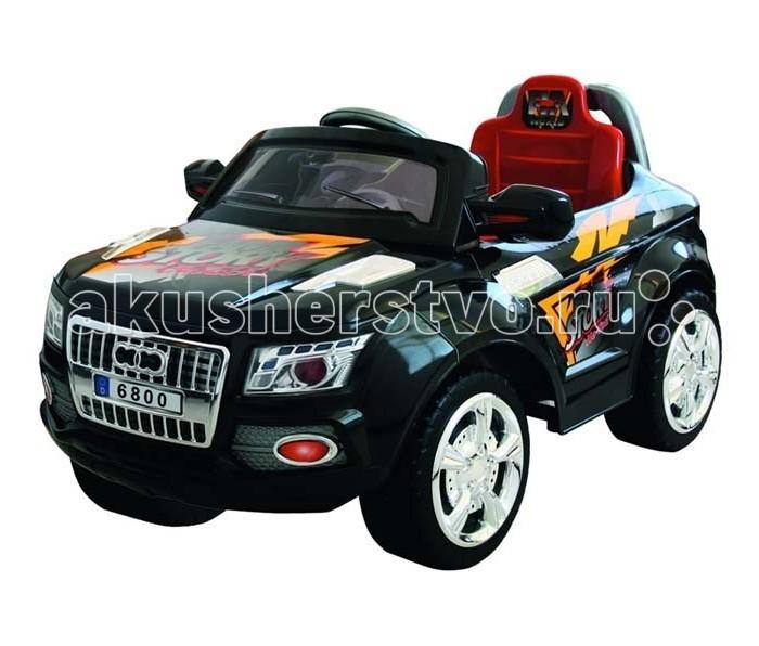 Электромобиль Bambini Super Car (Audos)Super Car (Audos)Bambini Super Car (Audos) - это яркая, стильная машина для юных автолюбителей.  Плавные линии, выразительные фары необычный дизайн приведут в восторг вашего ребенка.  Данный электромобиль отвечает всем нормам безопасности, он развивает скорость не больше 3-4 км/ч. Ремни безопасности уберегут вашего ребенка от травм.  Очень простое управление: одно нажатие на ножную педаль - автомобиль поехал, как только вы отпустите педаль, машина остановится.  Благодаря дистанционному пульту радиоуправления вы можете управлять транспортным средством на расстоянии 20 метров: вперед, назад, вправо, влево  Звуковые и световые эффекты, сигнал, свет фар  Зеркала заднего вида  MP3 выход  Колеса из прочного пластика с резиновым уплотнителем шириной 3см, проходящим по окружности колеса для лучшего сцепления с дорогой  Размеры электромобиля (Д*Ш*В) - 102*62*53 см.  Вес электромобиля - 12.5 кг<br>