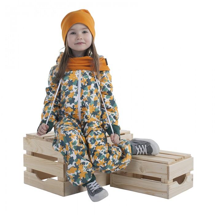 Детская одежда , Комбинезоны и полукомбинезоны Bambinizon Комбинезон из футера на молнии с втачным капюшоном Милитари арт: 487206 -  Комбинезоны и полукомбинезоны