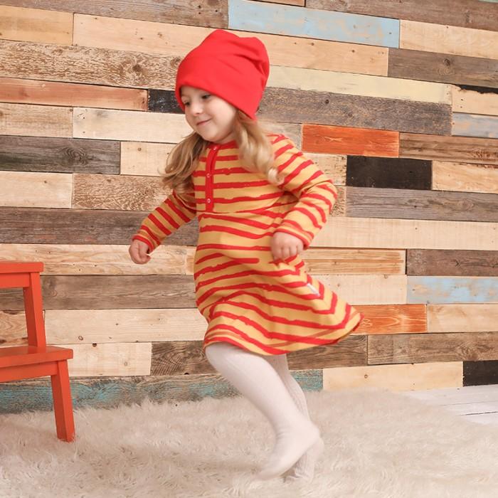 Детские платья и сарафаны Bambinizon Платье Бордовая полоска