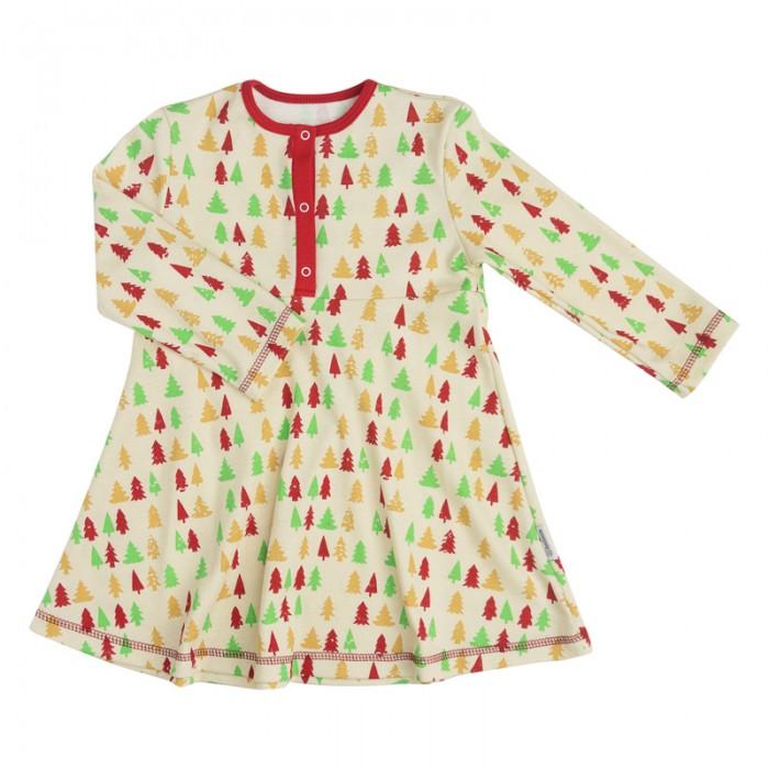 Детские платья и сарафаны Bambinizon Платье Елочки детские платья и сарафаны ябольшой платье пастила 64 327 01