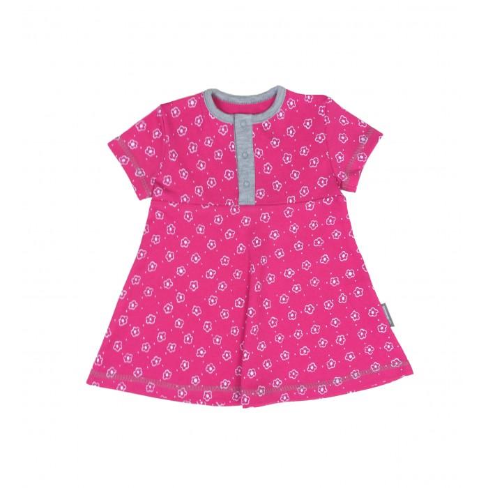 где купить Детские платья и сарафаны Bambinizon Платье на кнопках с коротким рукавом по лучшей цене