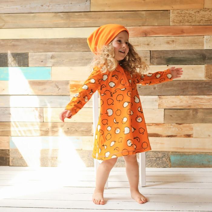 Детские платья и сарафаны Bambinizon Платье Яблоки детские платья и сарафаны ябольшой платье пастила 64 327 01