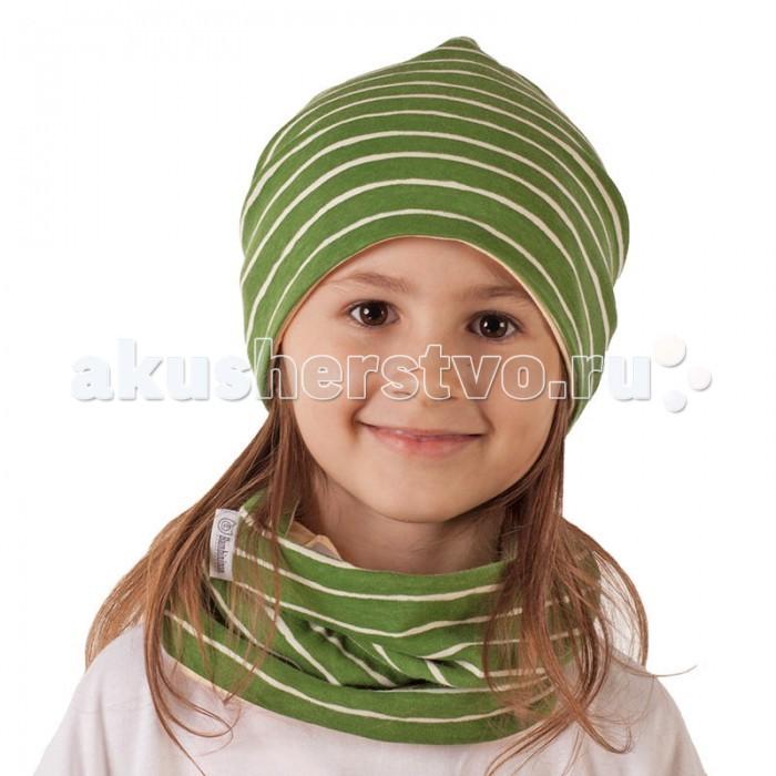 Варежки, перчатки и шарфы Bambinizon Шарф-снуд Лесные сны шарфы милочка шарф