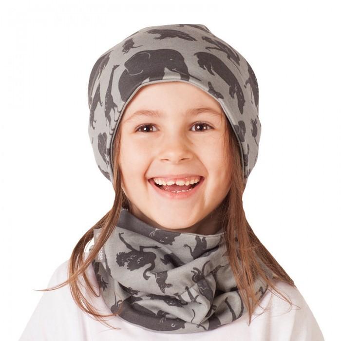 Варежки, перчатки и шарфы Bambinizon Шарф-снуд Сафари