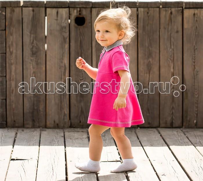 где купить Детские платья и сарафаны Bambinizon Платье с воротником по лучшей цене