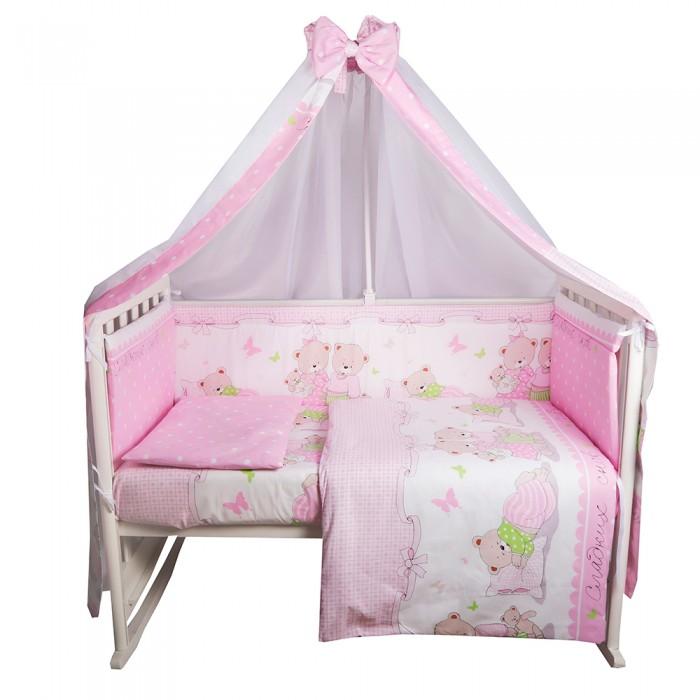 Комплект в кроватку BamBola Сладких снов (7 предметов)
