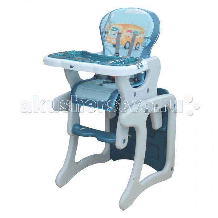 Стульчик для кормления BamBola CarloCarloСтульчик для кормления BamBola Carlo  Стул-трансформер Bambola - стульчик для кормления, который используется для малышей с 6 месяцев и до 3 лет. Удобная спинка имеет несколько положений, а пятиточечные ремни безопасности защитят ребенка. Стульчик легко можно превратить в игровой стол и стул или высокий стул для кормления.  Особенности: Регулируемый угол наклона спинки стульчика (три положения) Регулируемый поднос-столешница (шесть положений) Пятиточечные ремни безопасности Съемный поднос Легко трансформируется из высокого стульчика для кормления в игровой стол и стул Изготовлен из лёгкой и высококачественной пластмассы Мягкое съёмное сиденье с легко моющимся покрытием Максимальная нагрузка на стол 20 кг<br>