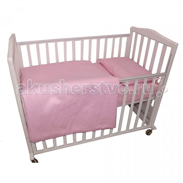 Постельное белье BamBola Карамельки (3 предмета) bambola комплект в кроватку 7пр карамельки розовый 703