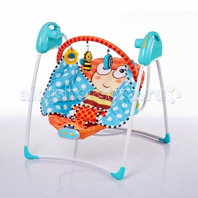 Электронные качели BamBola MusicaMusicaЭлектронные качели BamBola Musica обеспечивают плавное качание Вашего малыша и поможет быстро успокоить.  Веселые игрушки на дуге над головой ребенка понравятся ребенку и помогут занять его внимание во время игр.   Особенности: c дугой со съемными игрушками 5 скоростей качания 12 мелодий с адаптером может работать от 2 батареек АA 3 режима работы качелей (8, 15, и 30 минут) съемный чехол можно стирать крылья бабочки можно использовать как плед пятиточетный ремень безопасности Размеры: 44.5 х 14 х 64.5 см<br>