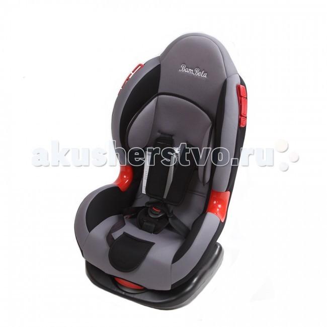 Автокресло BamBola NavigatorNavigatorДетское автомобильное кресло Bambolo Navigator предназначено для детей от 1 года до 7 лет весом от 9 до 25 кг. Автокресло имеет выраженную тыльную и боковую защиту, что обеспечивает защиту ребенка при резких поворотах и боковых ударах. Замок внутренних ремней безопасности обладает повышенной надежностью, внутренние ремни регулируюся по высоте в зависимости от роста ребенка. Для детишек в возрасте от 1 до 4 лет можно регулировать наклон кресла в шести положениях.  Преимущества модели в области удобства: мягкий подголовник и накладки внутренних ремней обеспечивают максимальный комфорт ребенка регулировка внутренних ремней по высоте в зависимости от роста ребенка ортопедическая спинка обеспечивает комфорт ребенка во время поездки пластиковые накладки обеспечивают повышенную износостойкость чехла в местах прохождения штатных ремней безопасности 6 положений регулировки наклона автокресла позволяют ребенку удобно спать в дороге  Преимущества модели в области безопасности: выраженная тыльная и боковая защита обеспечивает безопасность при резких поворотах и боковых ударах ярко выделенные направляющие для правильного прохождения штатного ремня безопасности надежная система внутренних пятиточечных ремней с использованием специально разработанных ременных лент российского производства замок ремней с мягким клапаном и защитой от неправильного использования нетоксичный гипоаллергенный материал безопасен для ребенка соответствует правилам ЕЭК ООН № 44-04  Габариты кресла: 45х50х76 см Вес: 7.75 кг<br>