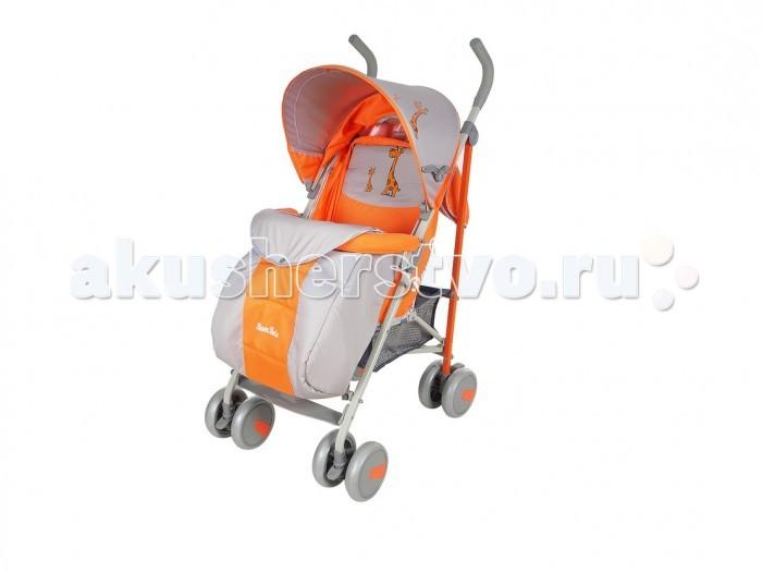 Коляска-трость BamBola W807СW807СКоляска-трость BamBola W807С - это удобная и крайне легкая коляска, которая сделает прогулки с ребенком приятными и увлекательными. Она имеет силиконовые колеса, на задних колесах установлен тормоз. Благодаря этому достигается хорошая маневренность на ровной поверхности. Если нужно ехать по неровной дороге, то передние колеса можно фиксировать в прямом направлении.  Коляска оснащена съемным капюшоном, который может опускаться до бампера. Встроенная москитная сетка облегчит прогулки в теплое время. Коляска имеет ремни безопасности и стационарный бампер, а для комфорта малыша спинка коляски регулируется в 5 положениях.  Особенности: Коляска небольшая в размере, легко складывается и раскладывается Механизм складывания - трость Передние поворотные колеса с фиксатором Задние колеса с подвеской и тормозами Все колеса с амортизацией и съемные Вспененная резина на ручках Регулируемая спинка (5 положений), ребенку удобно лежать и сидеть 3-х точечные ремни безопасности Съемный капюшон опускается до бампера, вставка Москитная сетка в капюшоне, карман для мелочей Бампер не съемный Регулируемая подножка Вместительная корзина для покупок Окошко на капюшоне Накидка на ножки.  Размеры и вес: Размер в разложенном виде: 80х48х110 см Вес: 6.5 кг.<br>