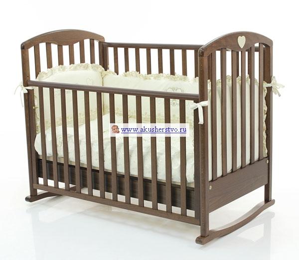 Детская кроватка Bambolina Cucciolo 120х60 17505