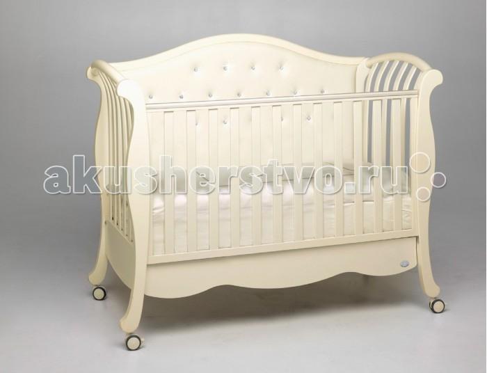 Детская кроватка Bambolina Divina Lux Cristallo «Акушерство»