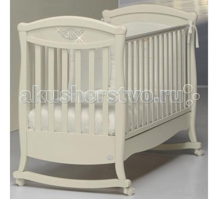 Детская кроватка Bambolina Principessa Cristallo