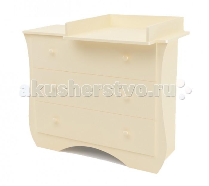 Комод Bambu пеленальный Ilona (3 ящика)
