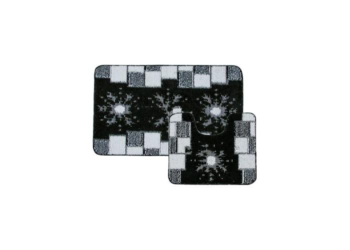 Купить Аксессуары для ванн, Banyolin Classic Collor Коврик для ванной комнаты Снежинки 55х90/55х45 см 2 шт.