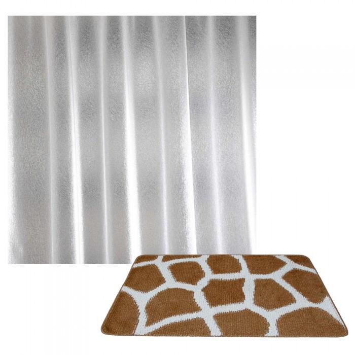Аксессуары для ванн Banyolin Classic Collor Коврик для ванной комнаты Жираф со шторкой Crystal Shine