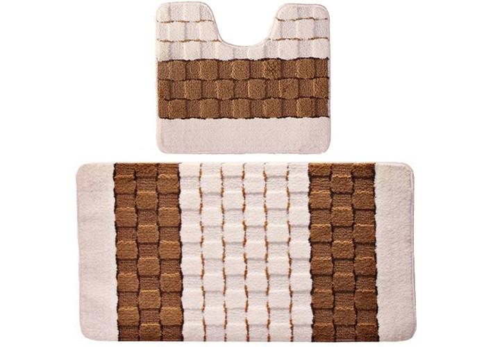 Купить Аксессуары для ванн, Banyolin Silver Комплект ковриков для ванной комнаты 50х80/50х40 см 2 шт.