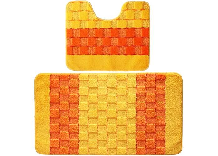 Купить Аксессуары для ванн, Banyolin Silver Комплект ковриков для ванной комнаты 60х100/50х60 см 2 шт.