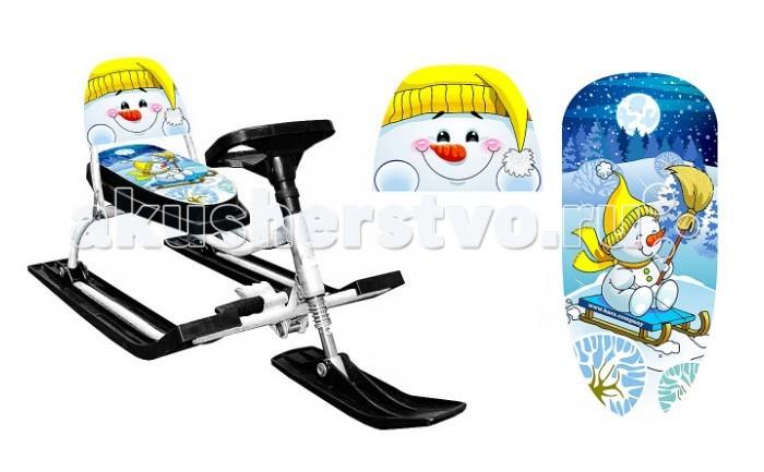Зимние товары , Снегокаты Барс (Russian Winter) 130 Comfort Снеговик арт: 221788 -  Снегокаты