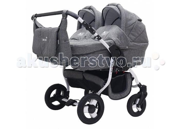 Детские коляски , Коляски для двойни и погодок Bart-Plast Коляска для двойни Fenix Duo Prime 2 в 1 арт: 440494 -  Коляски для двойни и погодок