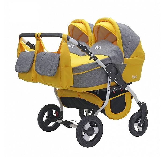 Детские коляски , Коляски для двойни и погодок Bart-Plast Коляска для двойни Fenix Duo 2 в 1 арт: 269821 -  Коляски для двойни и погодок